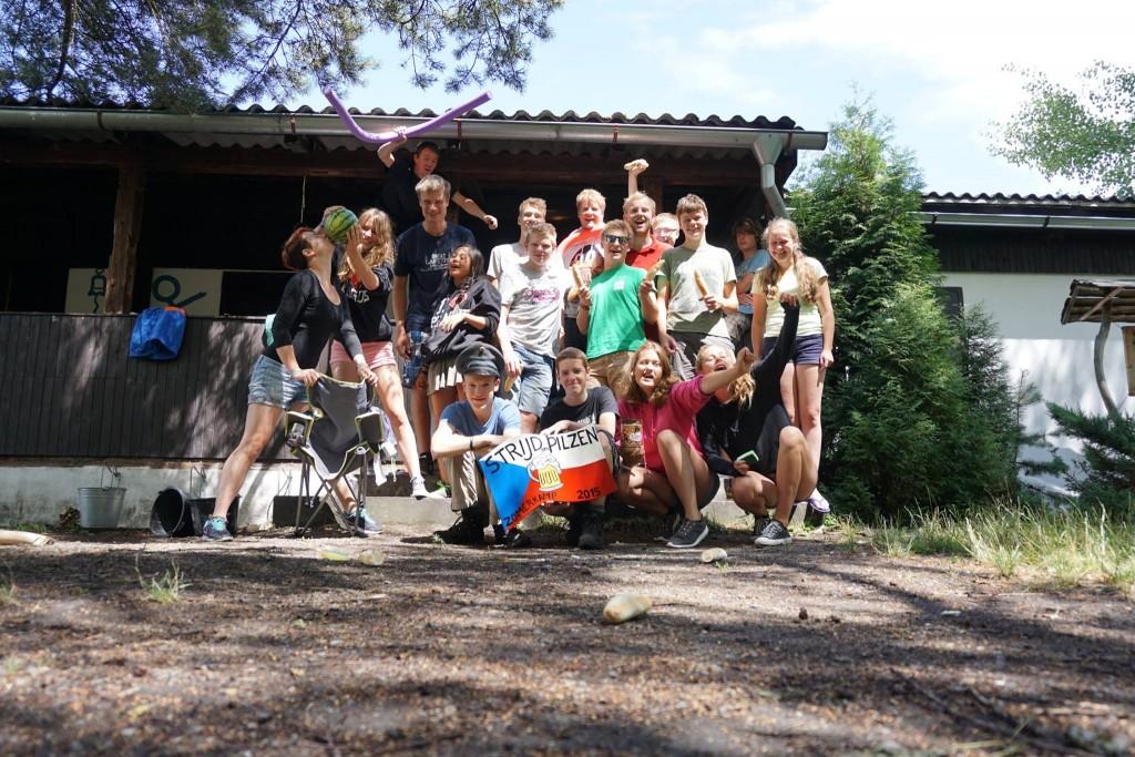 Zomerkamp Wildevaart groepsfoto 2015